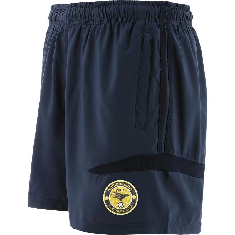 Farnborough Football Club Kids' Loxton Woven Leisure Shorts