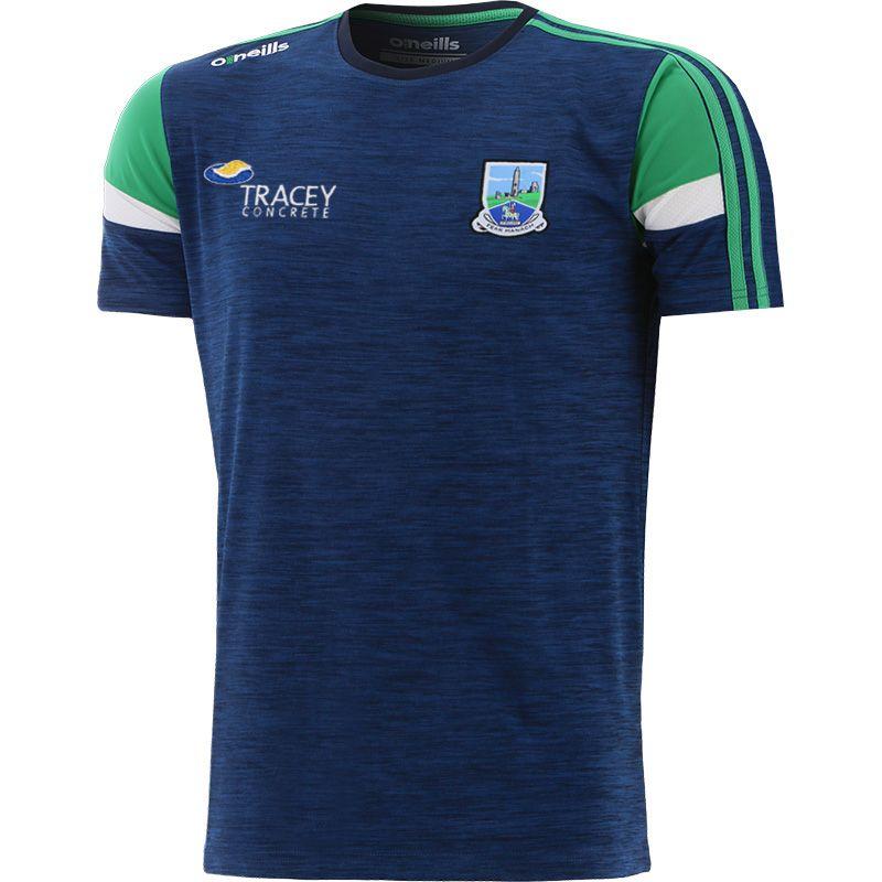 Fermanagh GAA Men's Portland T-Shirt Marine / Green / White