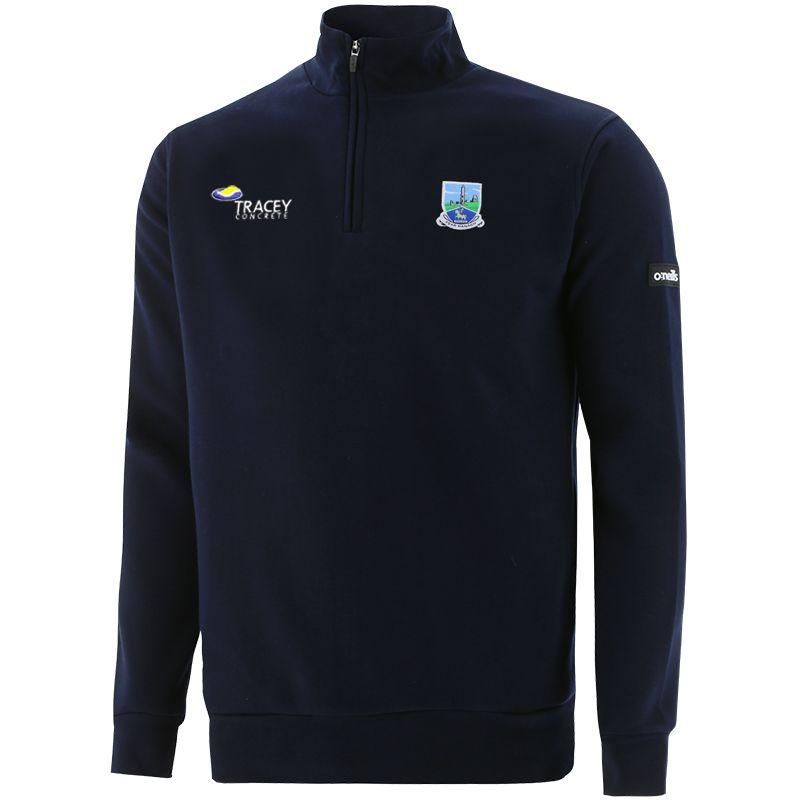 Fermanagh GAA Men's Breaker Fleece Half Zip Top Marine