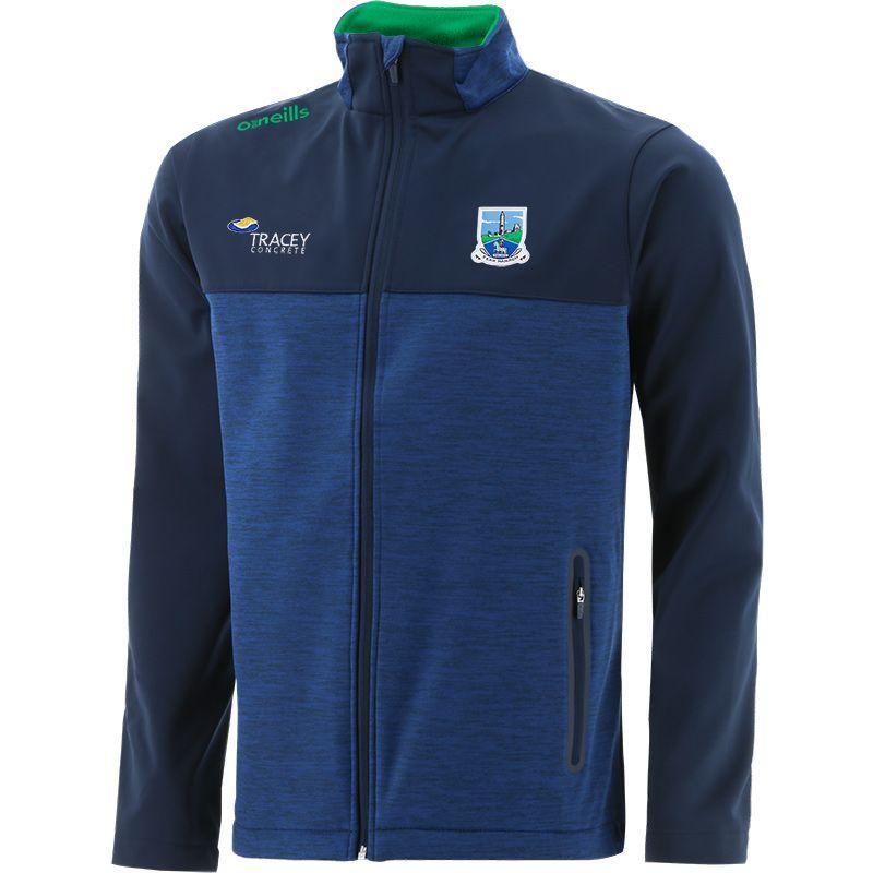 Fermanagh GAA Men's Portland Softshell Jacket Marine / Green