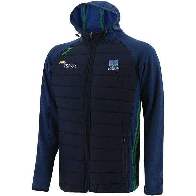 Fermanagh GAA Men's Portland Light Weight Padded Jacket Marine / Green