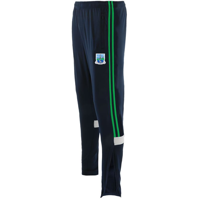Fermanagh GAA Men's Portland Brushed Skinny Bottoms Marine / Green / White
