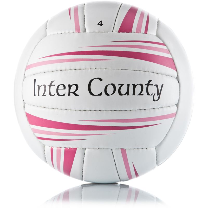 Inter County Football (White/Pink)