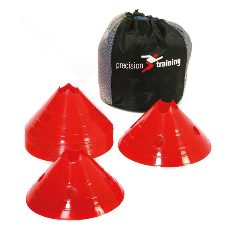 Precision Giant Saucer Cone Set of 20 Red