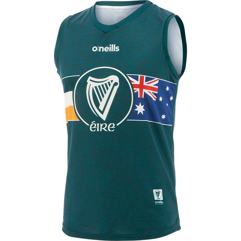Global Éire Australian Kids' Sleeveless Vest Green