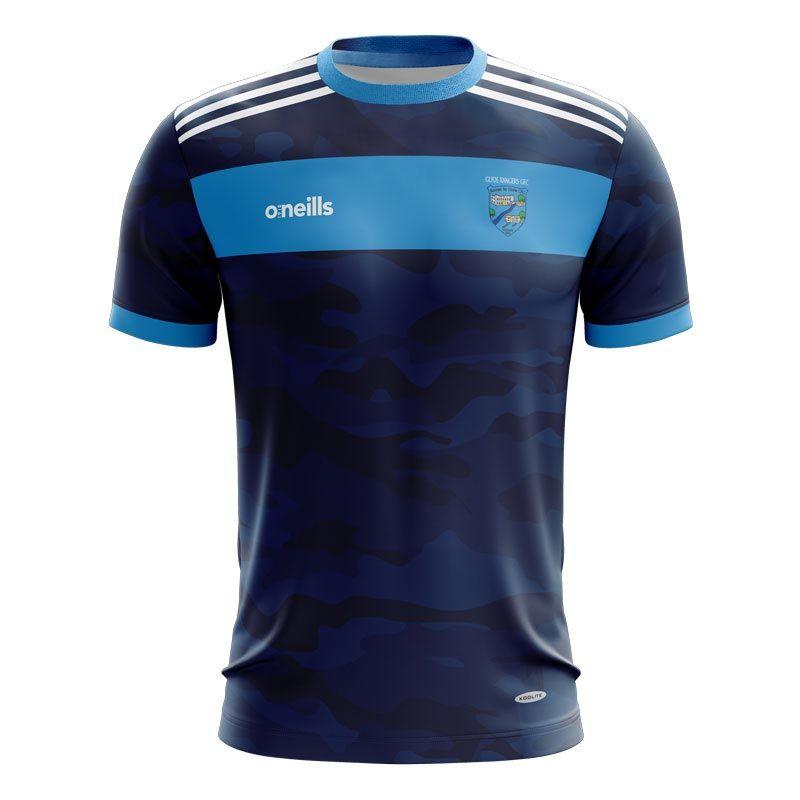 Glyde Rangers Short Sleeve Training Top