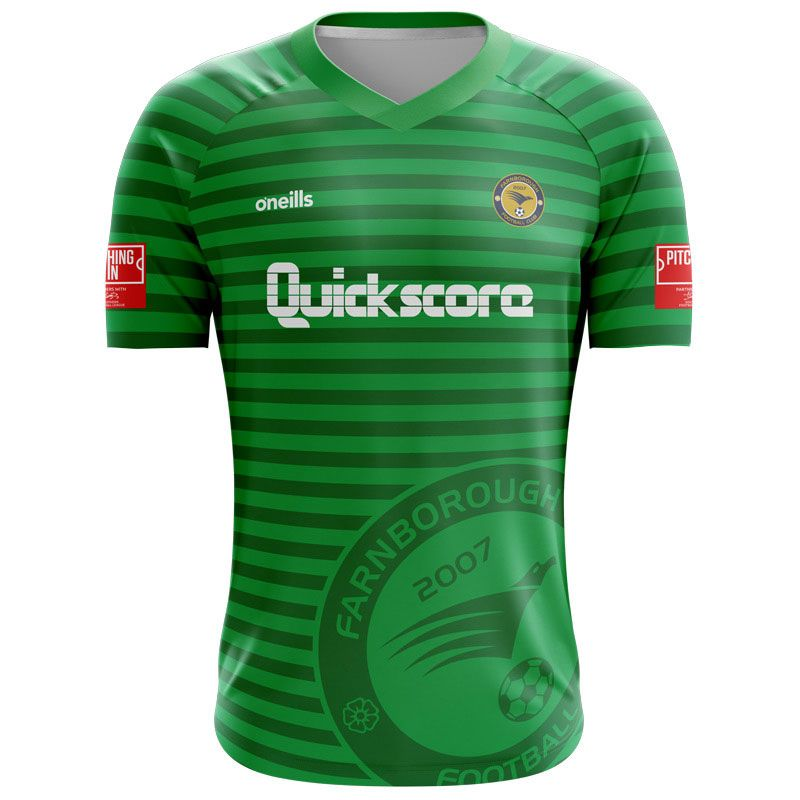 Farnborough Football Club Goalkeeper's Jersey