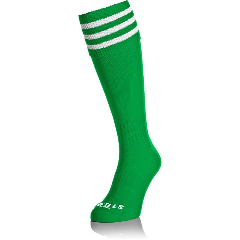 Premium Socks Bars Green / White