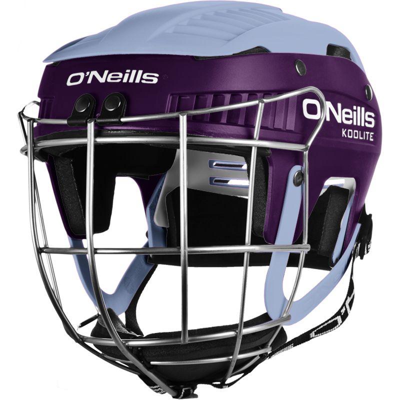 Koolite Hurling Helmet Purple / Sky