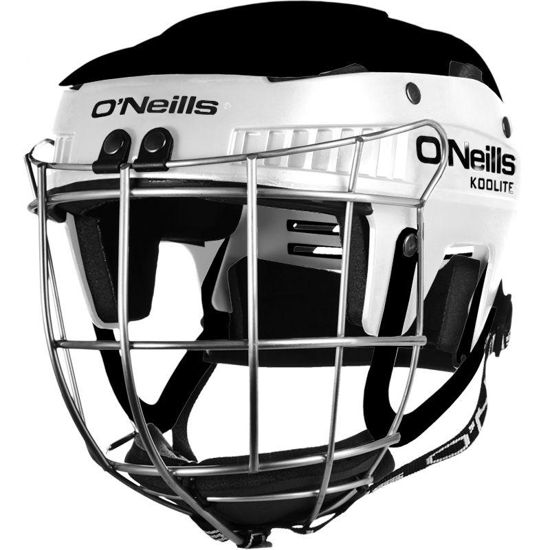 Koolite Hurling Helmet White / Black
