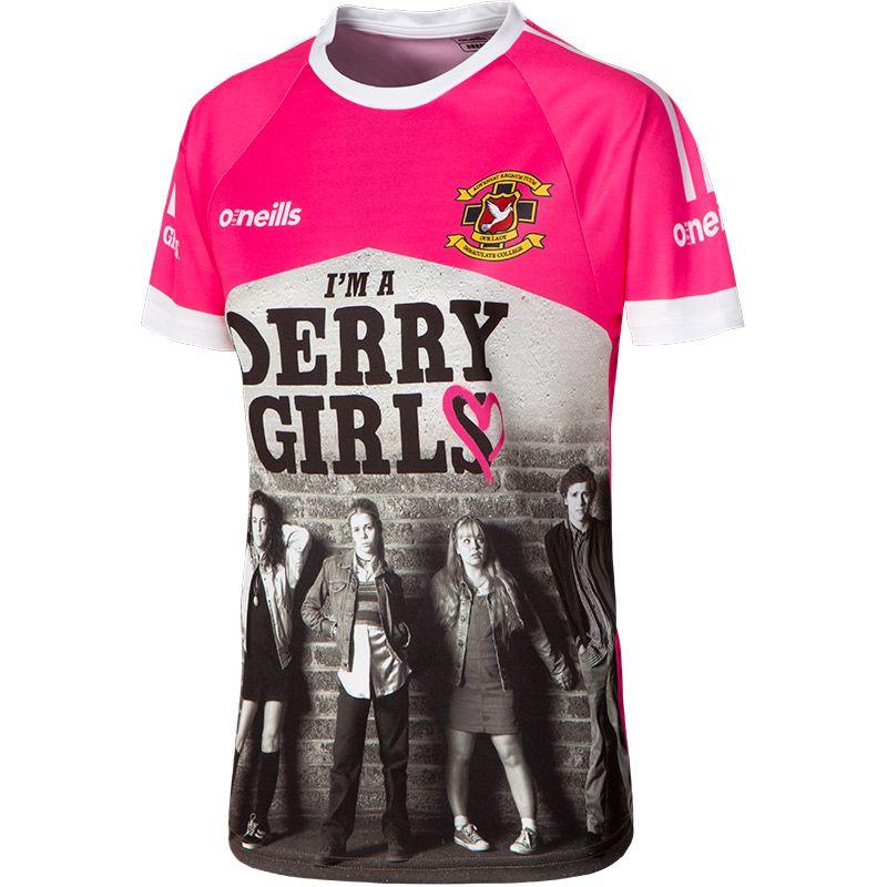 'I'm a Derry Girl' Women's Derry Girls Jersey