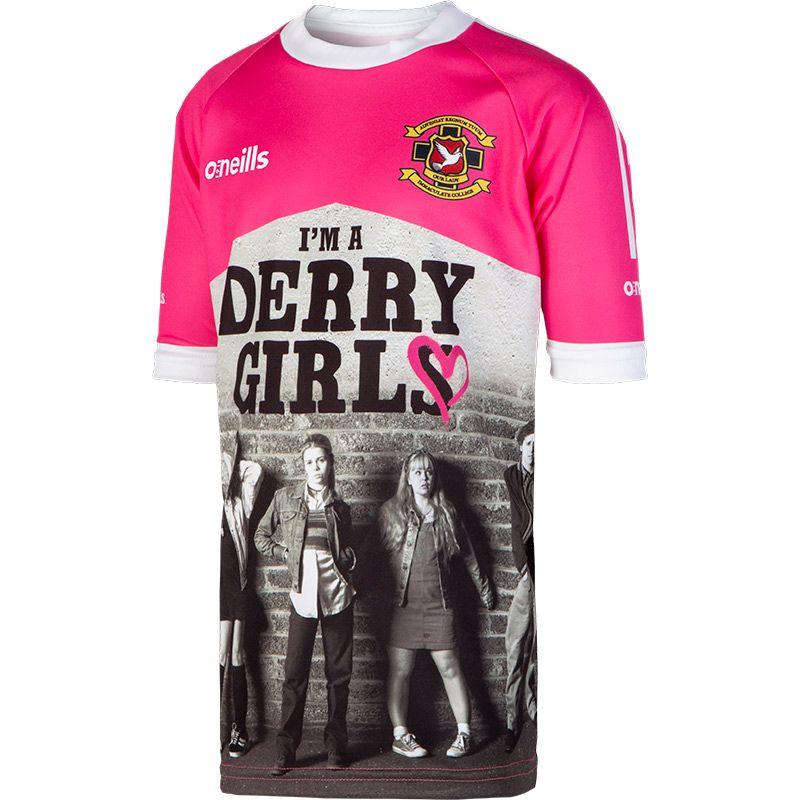 'I'm a Derry Girl' Kids' Derry Girls Jersey
