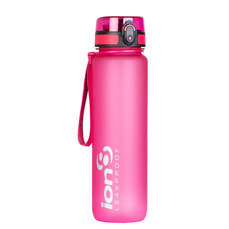 Ion8 Quench Water Bottle 1L Pink