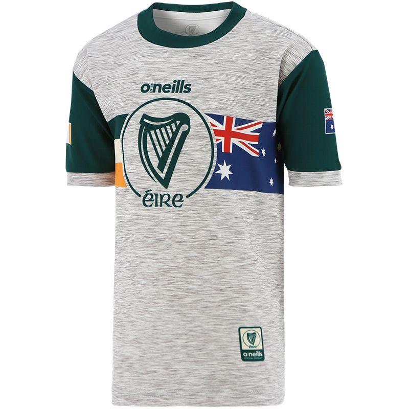 Global Éire Australian Kids' Jersey Grey / Green