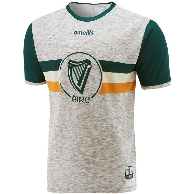 Global Éire Player Fit Jersey Grey / Green