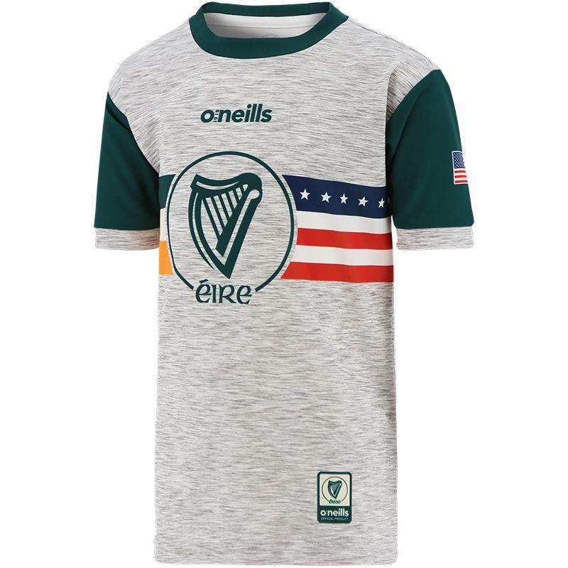 Global Éire USA Kids' Jersey Grey / Green