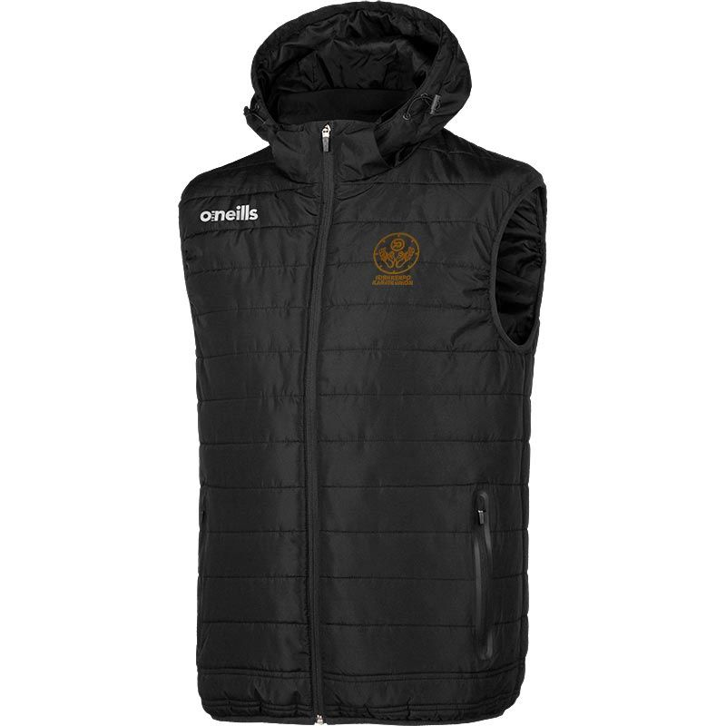 Irish Kenpo Karate Union Mens Hooded Gilet