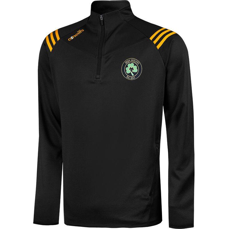 Irish Wolves Supporters Club Colorado Half Zip Squad Top