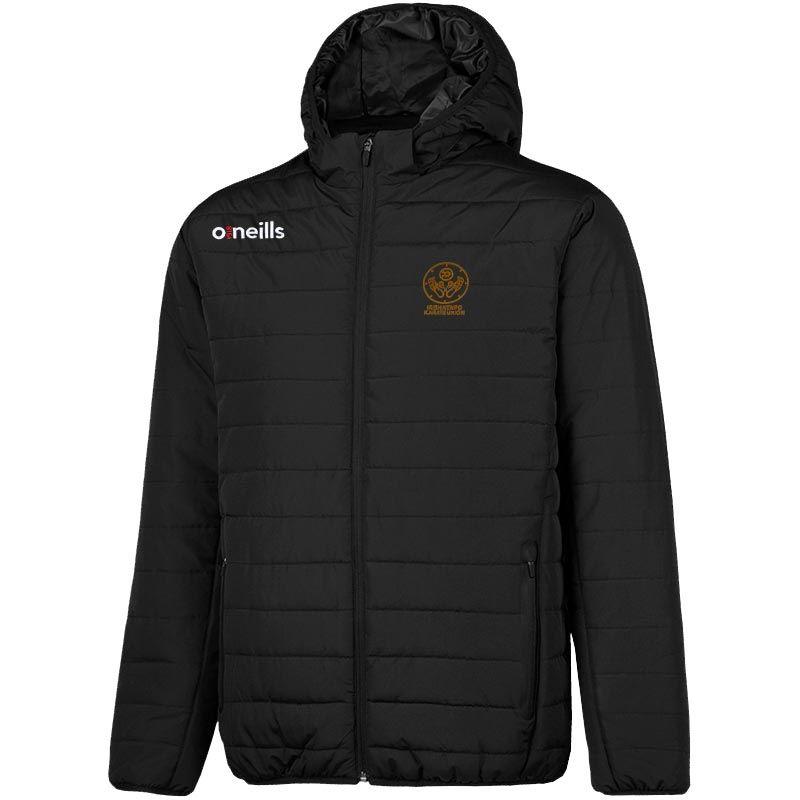 Irish Kenpo Karate Union Solar Mens Hooded Padded Jacket