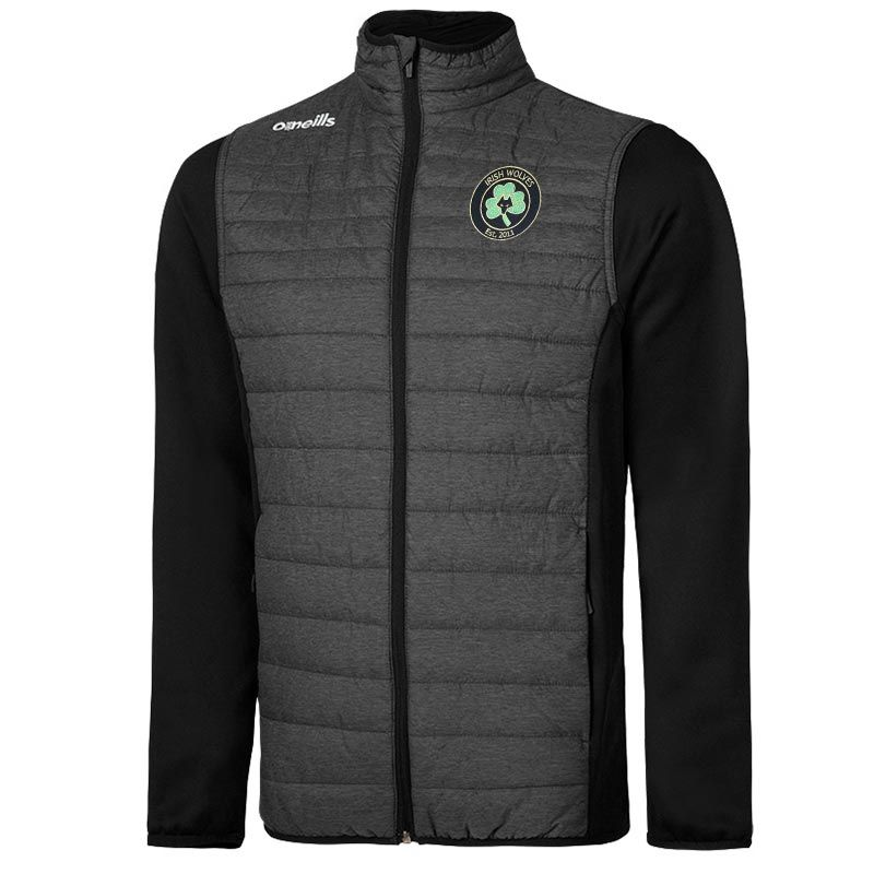 Irish Wolves Supporters Club Kids' Charley Padded Jacket