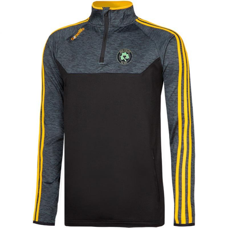 Irish Wolves Supporters Club Kasey Brushed Half Zip