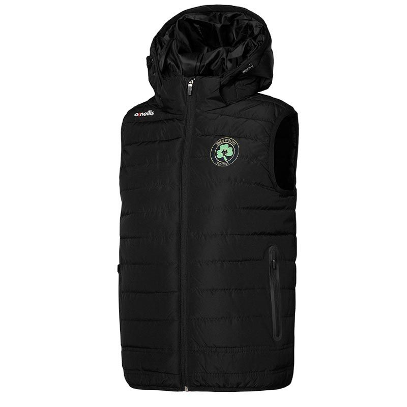 Irish Wolves Supporters Club Women's Solar Hooded Gilet