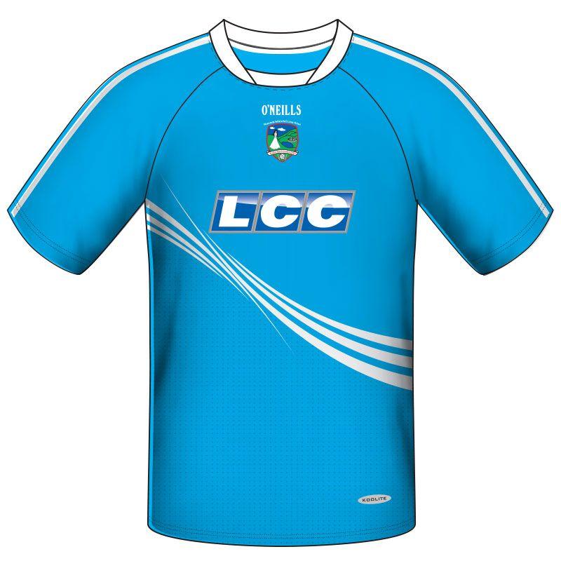 Lissan GAC GAA Short Sleeve Training Top Kids (Blue)