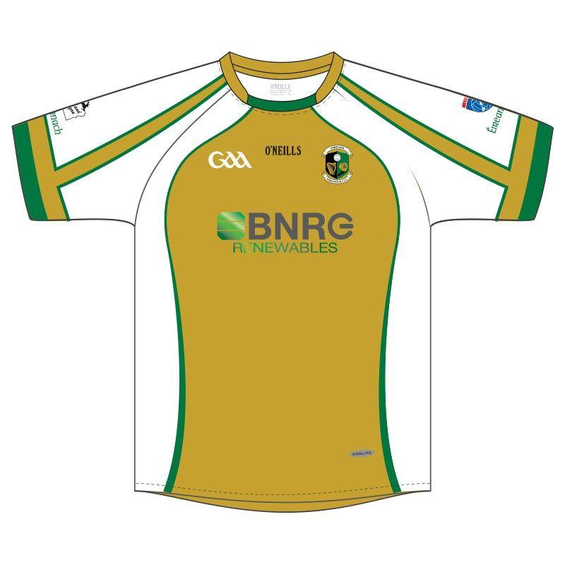 Portland Eireannach GAA Jersey (BNRG Gold)