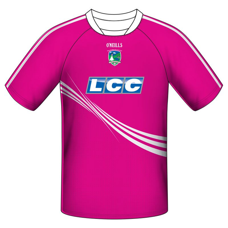Lissan GAC GAA Short Sleeve Training Top (Pink)