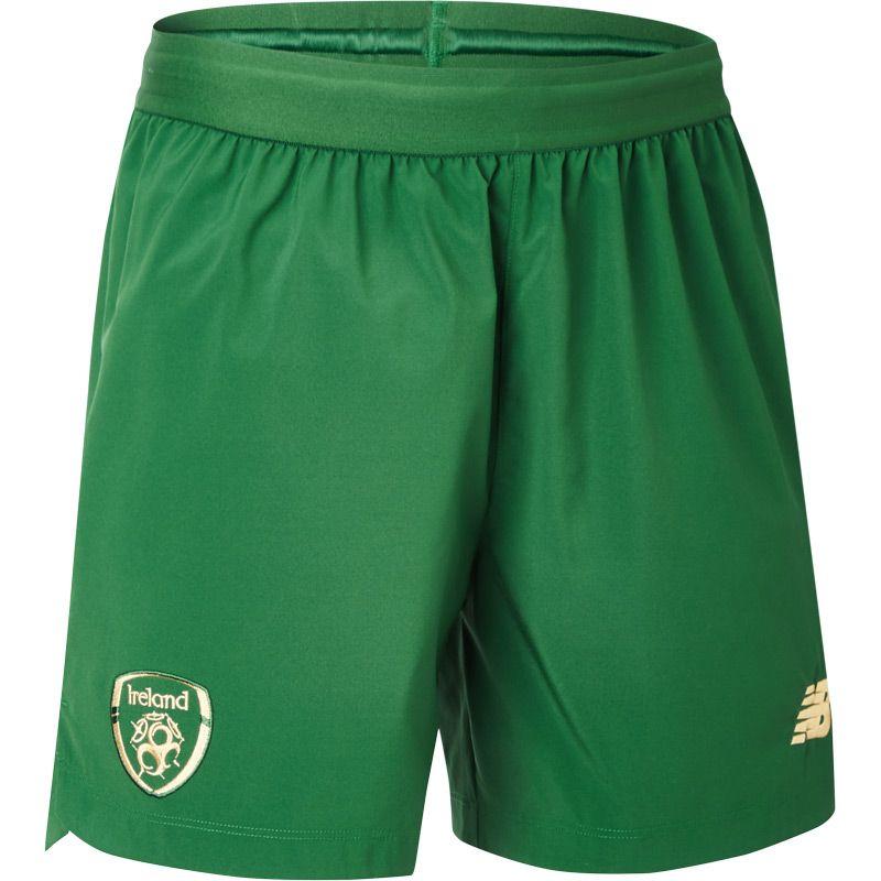 New Balance Republic of Ireland 19/20 Men's Home Shorts Eden