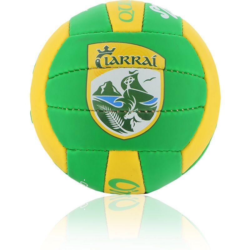 Kerry GAA All Ireland Mini Gaelic Football Bottle / Amber