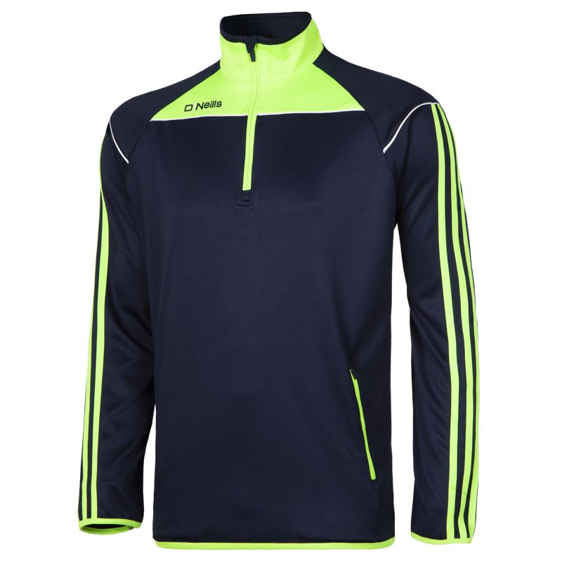Men's Aston Half Zip Top Marine / Green