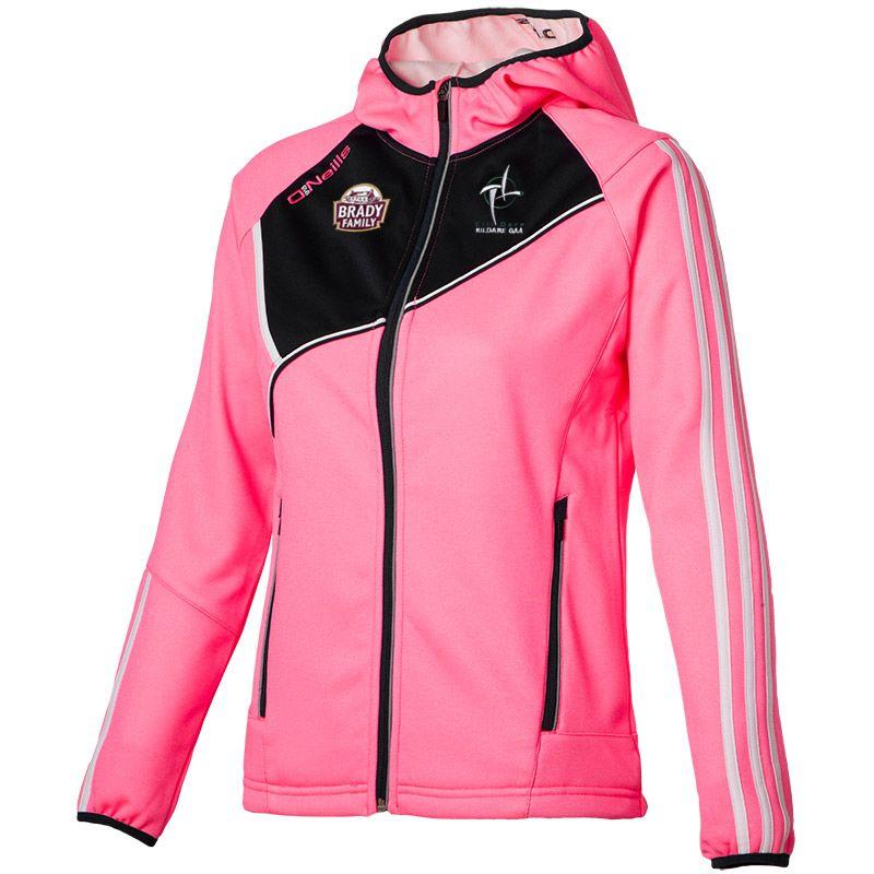 Kildare GAA Women's Conall Full Zip Proformance Hoodie Marine / Pink / White