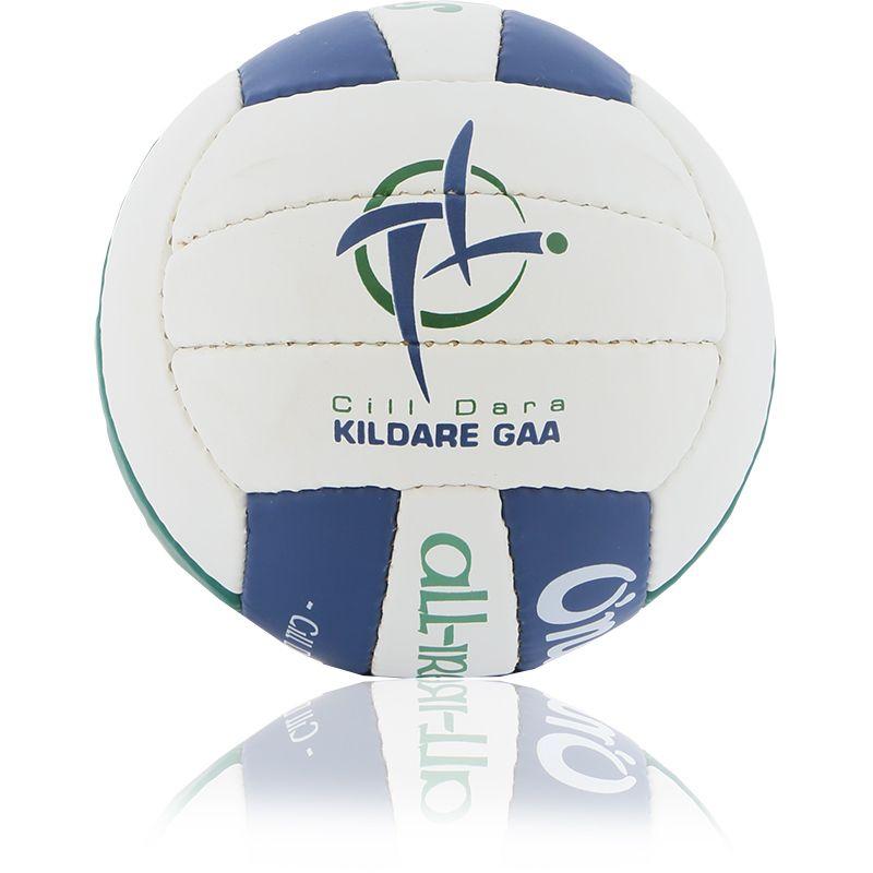 Kildare GAA All Ireland Mini Gaelic Football White / Bottle