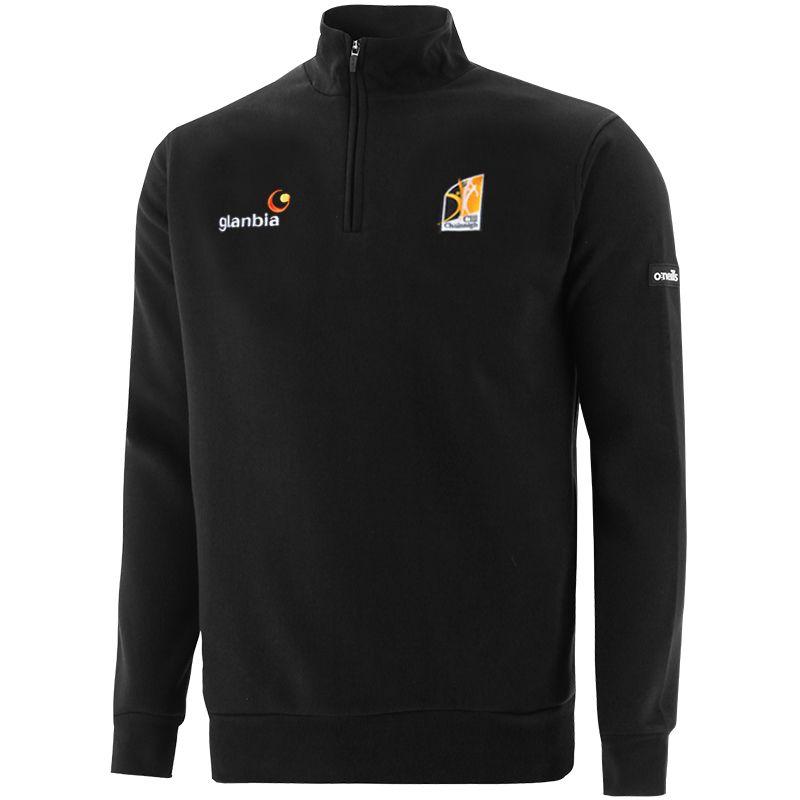 Kilkenny GAA Men's Breaker Fleece Half Zip Top Black