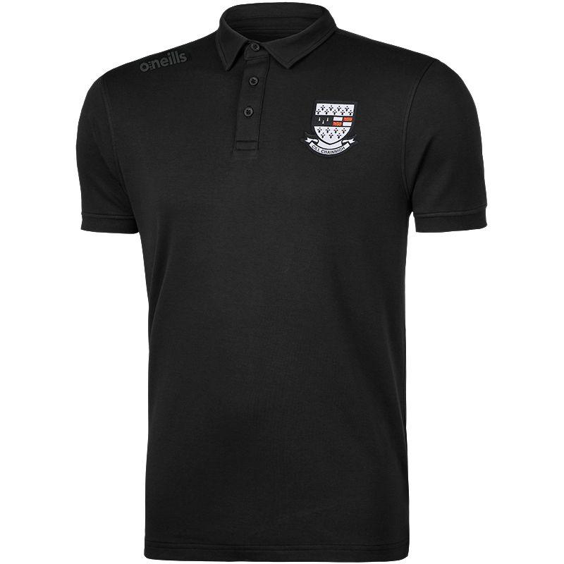 Kilkenny GAA Men's Retro Pima Cotton Polo Black