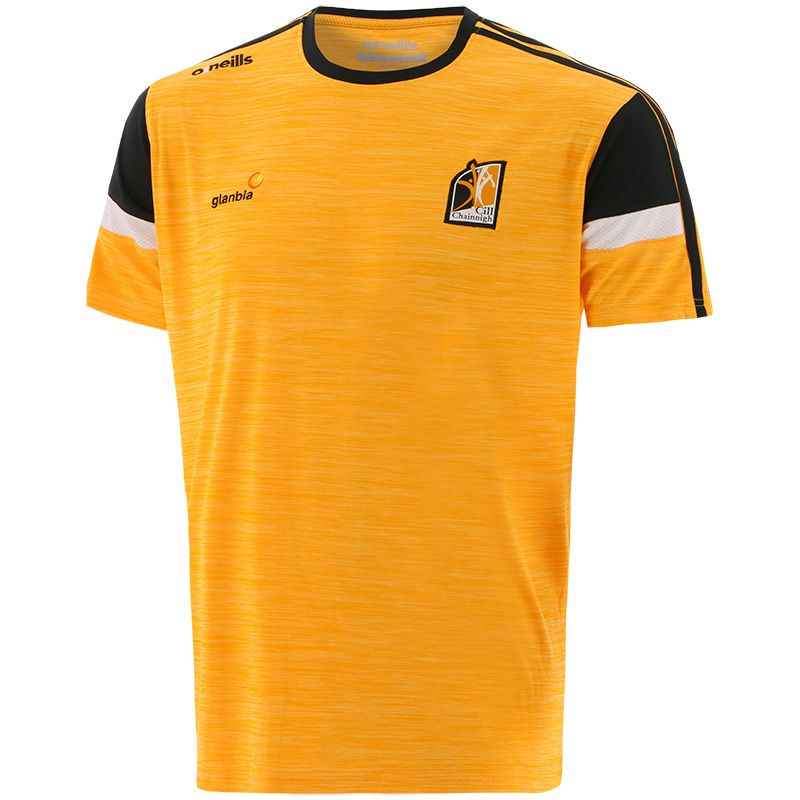 Kilkenny GAA Men's Portland T-Shirt Amber / Black / White