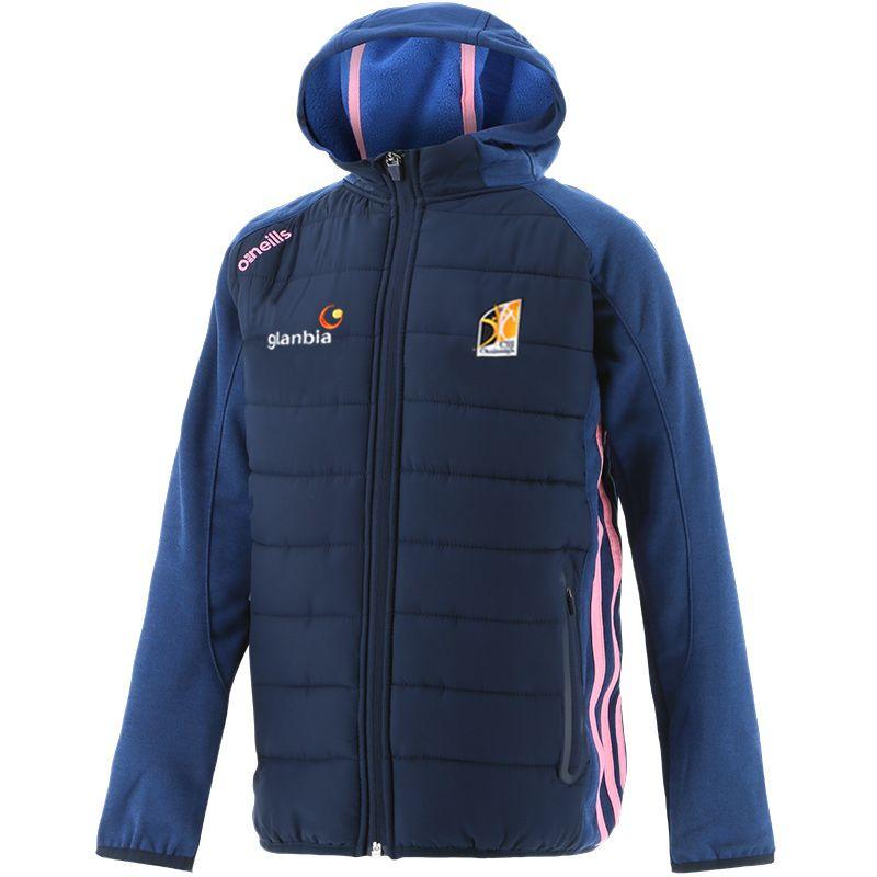 Kilkenny GAA Kids' Portland Light Weight Padded Jacket Marine / Pink