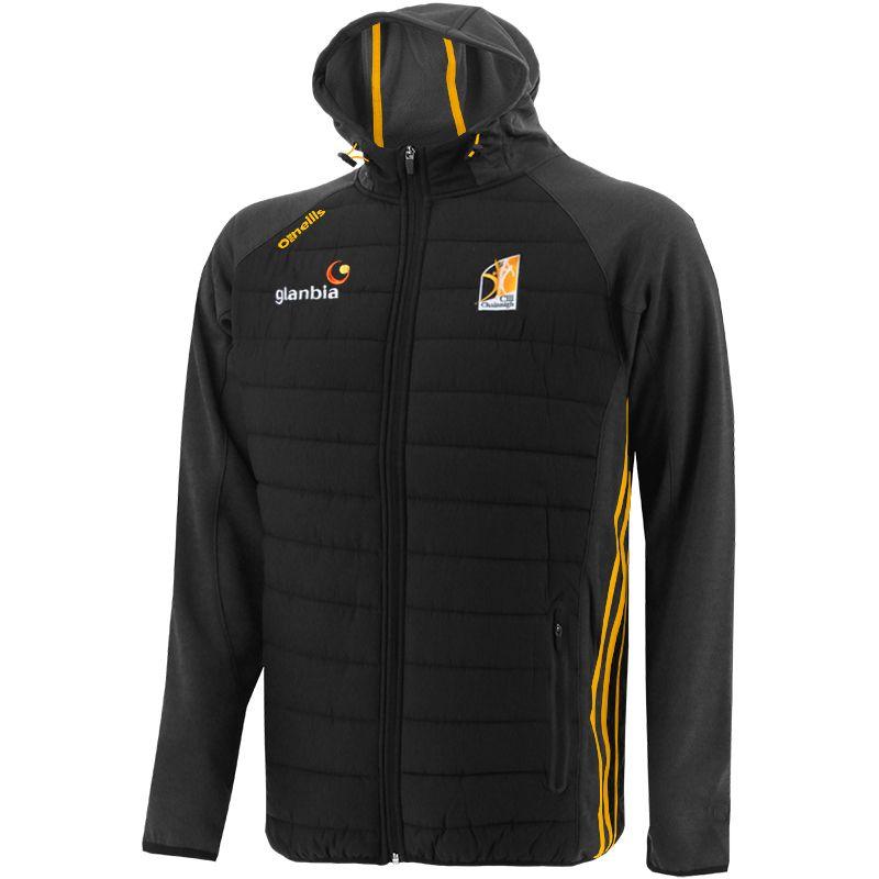 Kilkenny GAA Men's Portland Light Weight Padded Jacket Black / Amber