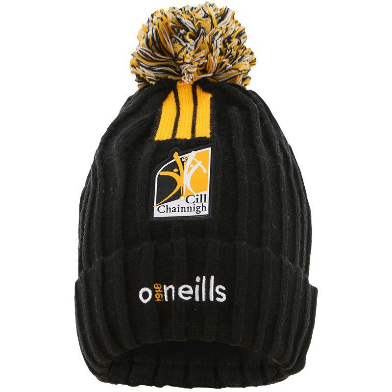 Kilkenny GAA Kids' Portland Bobble Hat Black / Amber