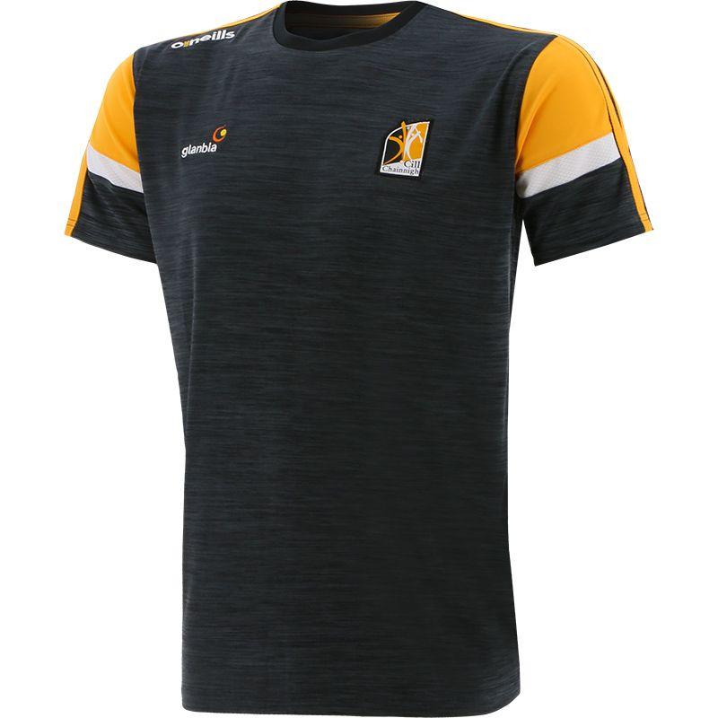 Kilkenny GAA Men's Portland T-Shirt Black / Amber / White