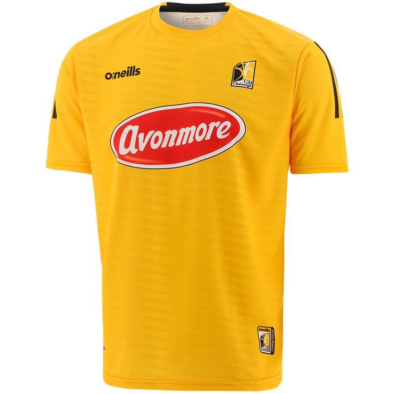 Kilkenny GAA Short Sleeve Training Top Amber / Black