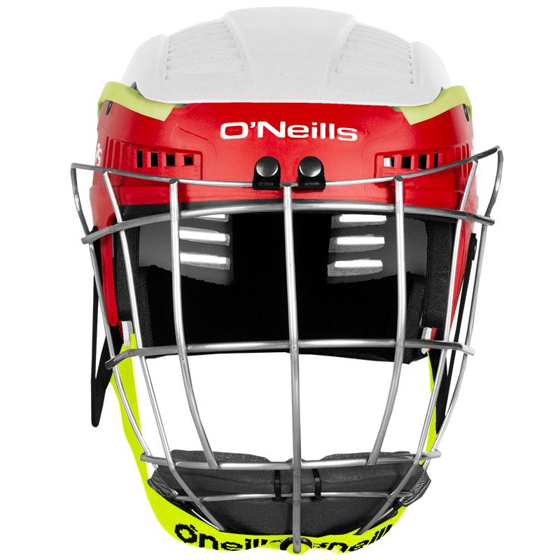 Koolite Hurling Helmet White / Red / Yellow