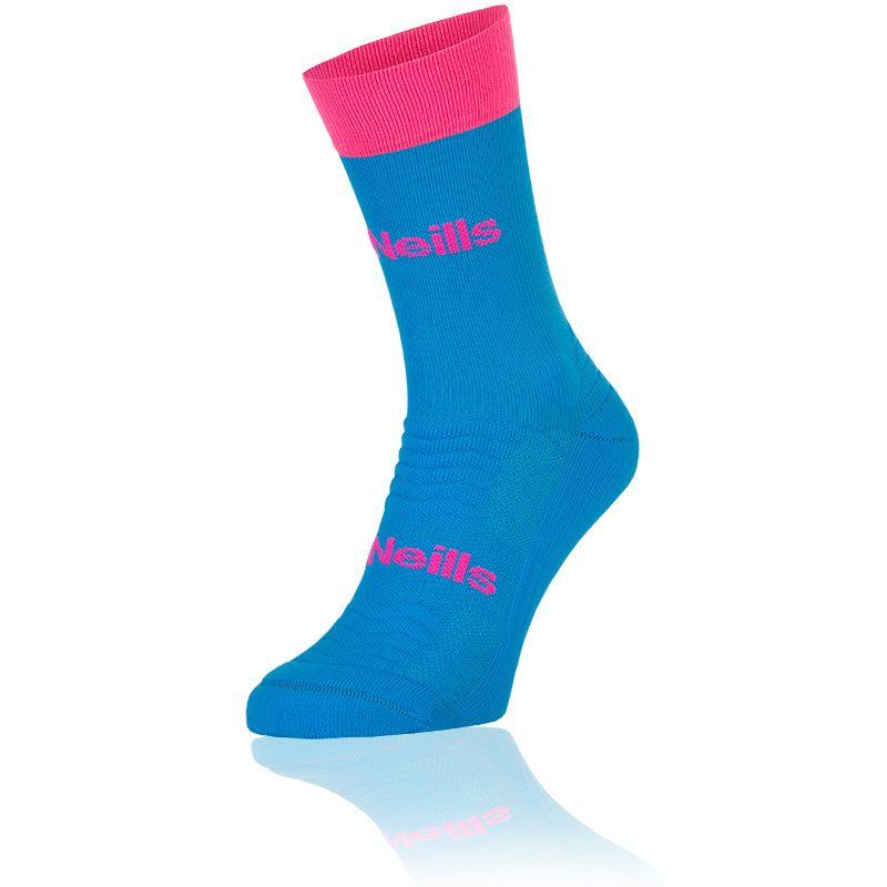 Women's Koolite Pro Midi Socks Swedish Blue / Flo Pink