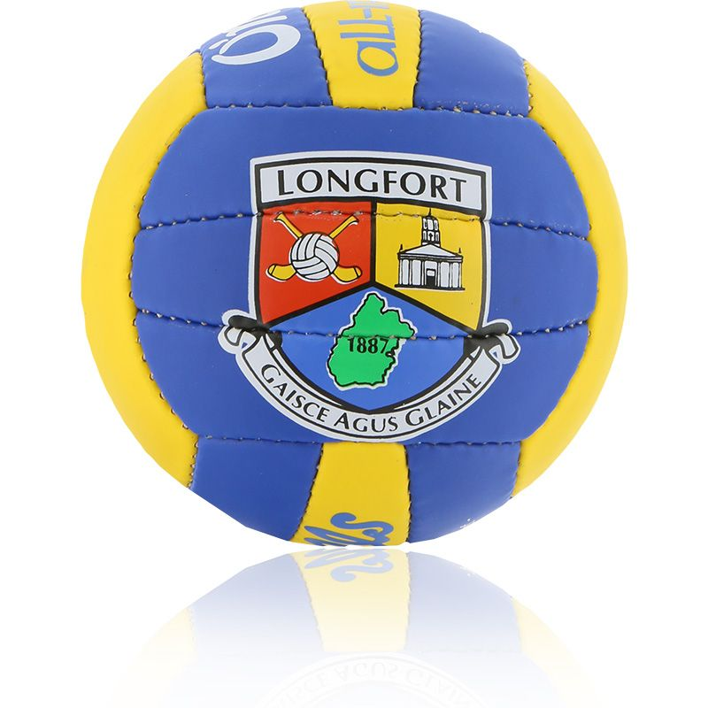 Longford GAA All Ireland Mini Gaelic Football Royal / Amber