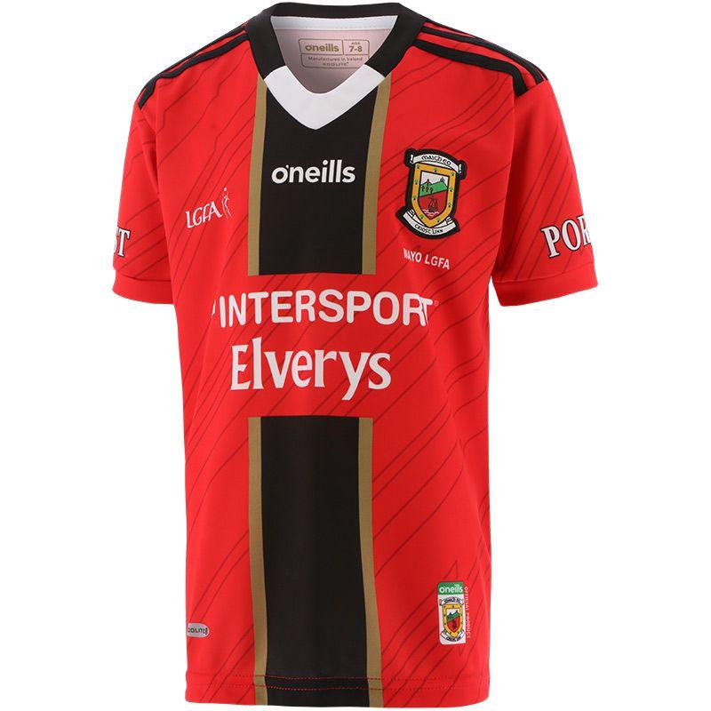 Mayo LGFA Kids' Away Goalkeeper Jersey 2021/22