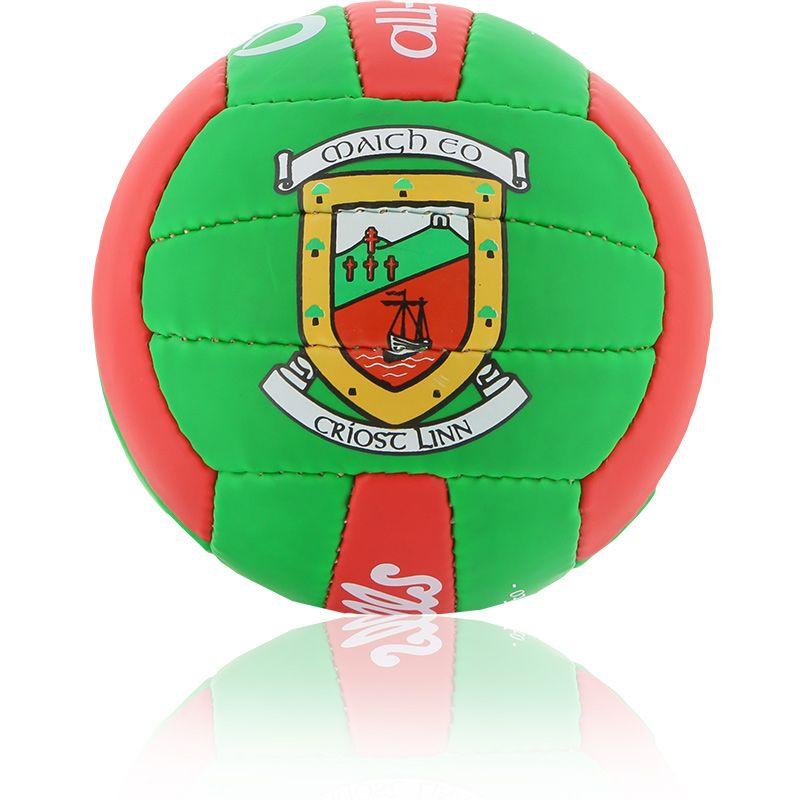 Mayo GAA All Ireland Mini Gaelic Football Emerald / Red