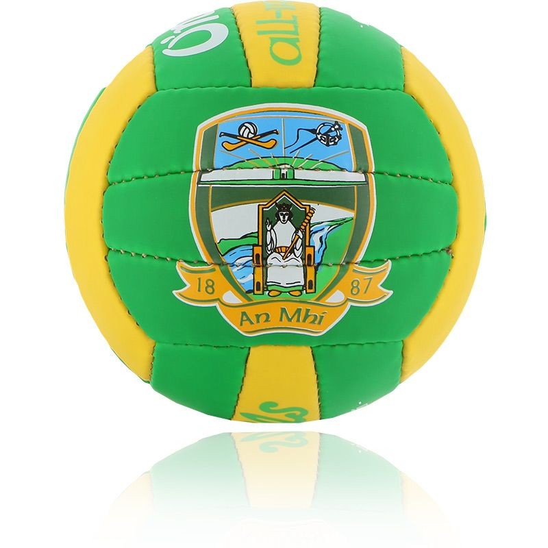 Meath GAA All Ireland Mini Gaelic Football Emerald / Amber