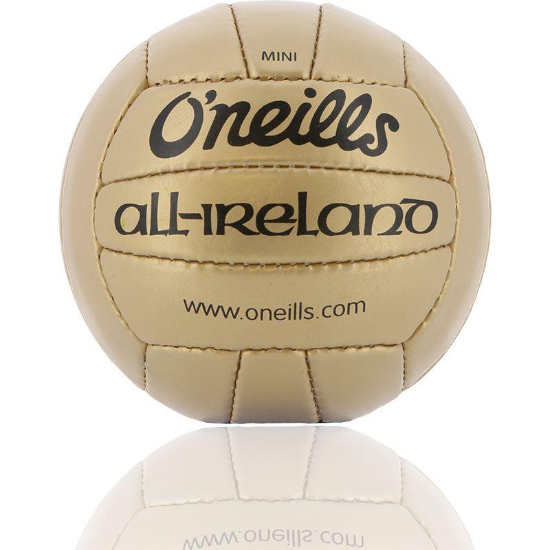 Mini All Ireland Football Gold
