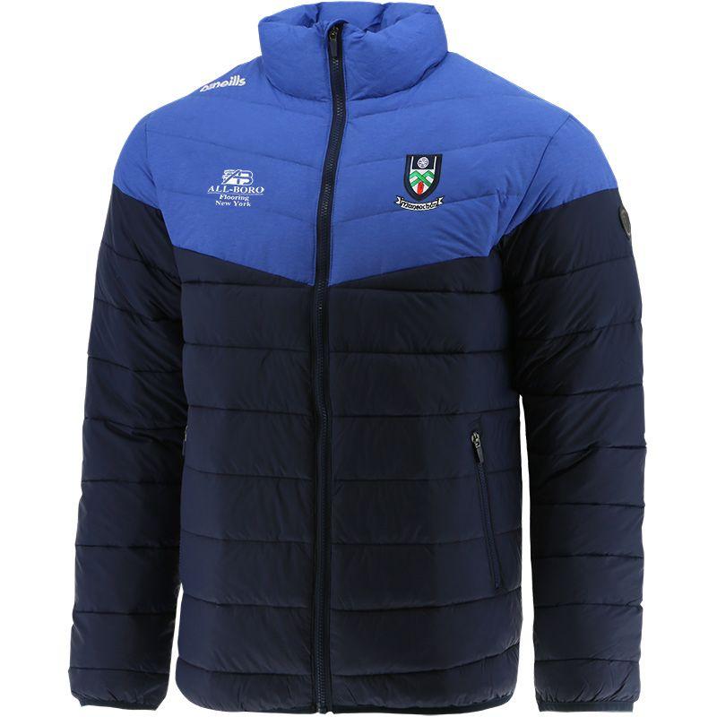 Monaghan GAA Men's Norton Padded Jacket Marine / Blue